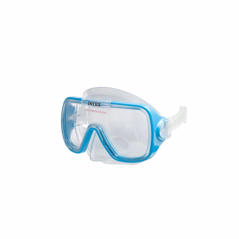 Маска для плавания Intex 55976 (Голубой) Wave Rider Masks