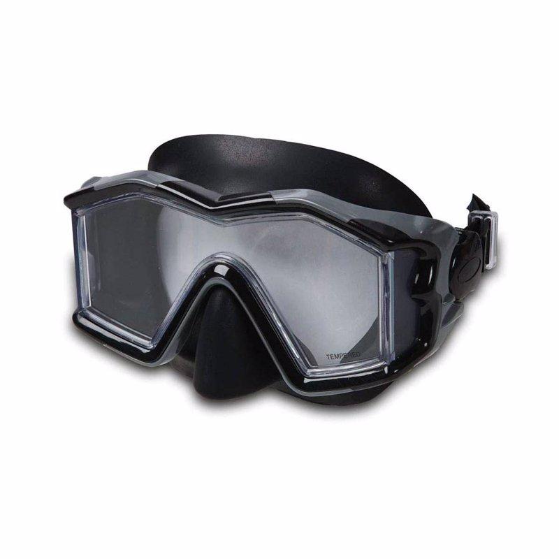 Маска для плавания Intex 55982 (Черный) Silicone Explorer Pro Masks