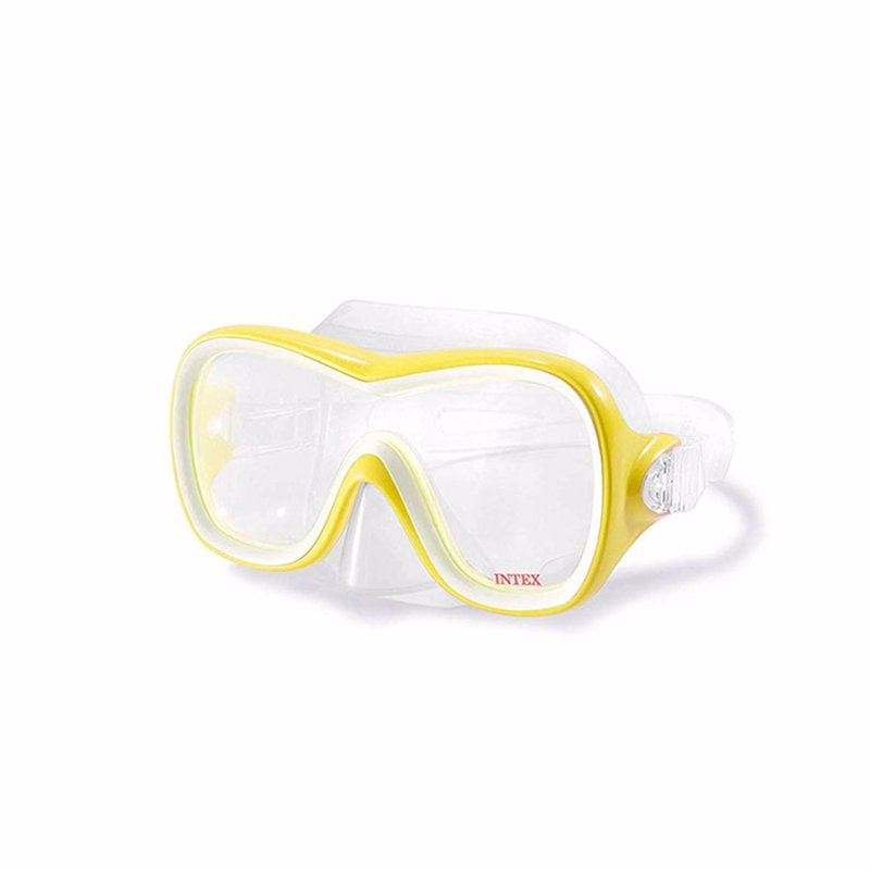 Маска для плавания Intex 55978 (Желтый) Wave Rider Masks