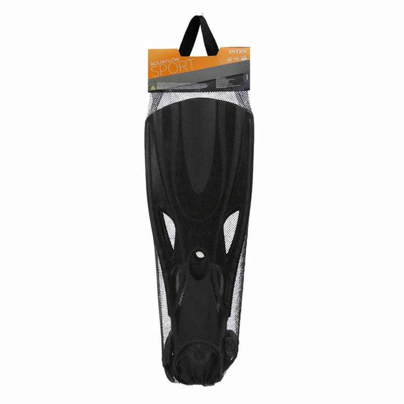 Ласты для плавания Intex 55634 (Черный) Medium Super Sport Fins (38-40)