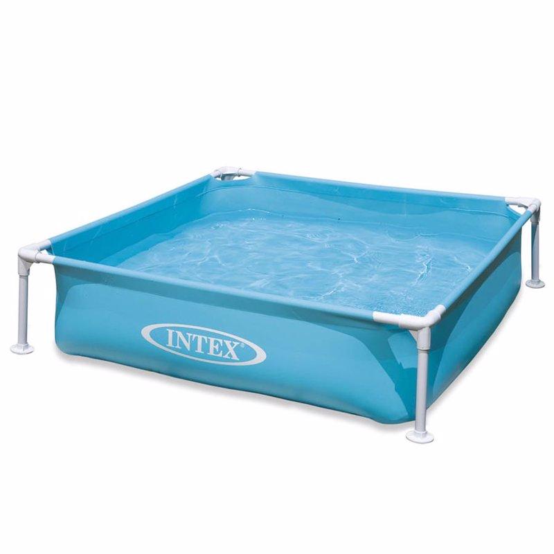 Детский каркасный бассейн Intex 57171 (Голубой) Mini Frame Pool (122х122х30 см)