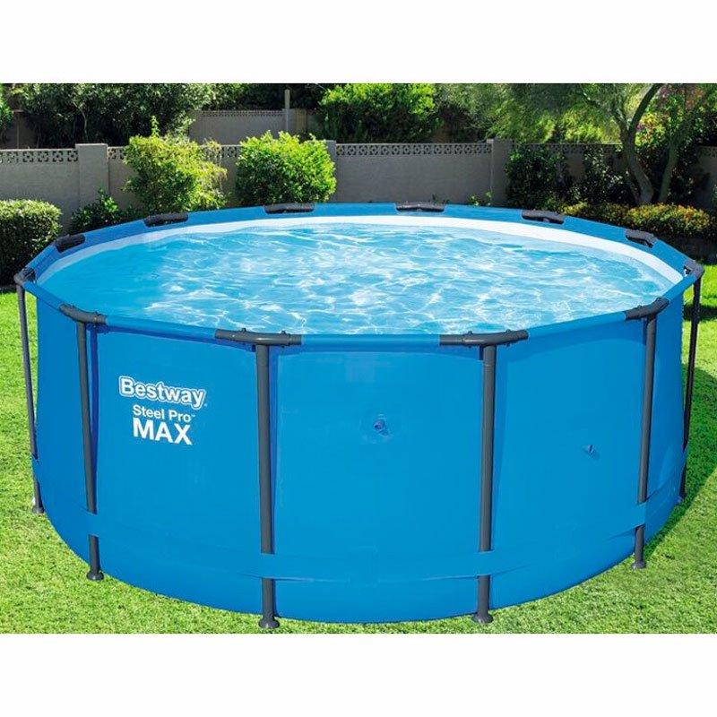 Круглый каркасный бассейн Bestway 15428 (366 x 133 см) Steel Pro Frame Pool