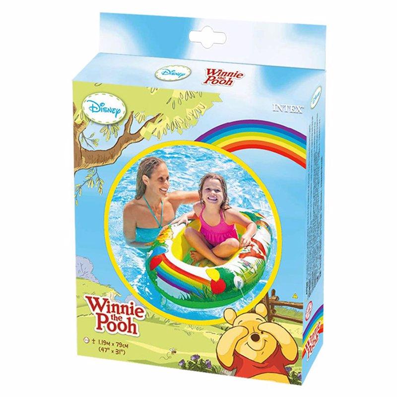 Детская надувная лодка Intex 58394 Винни Пух (119x79 см) Winnie the Pooh Boat