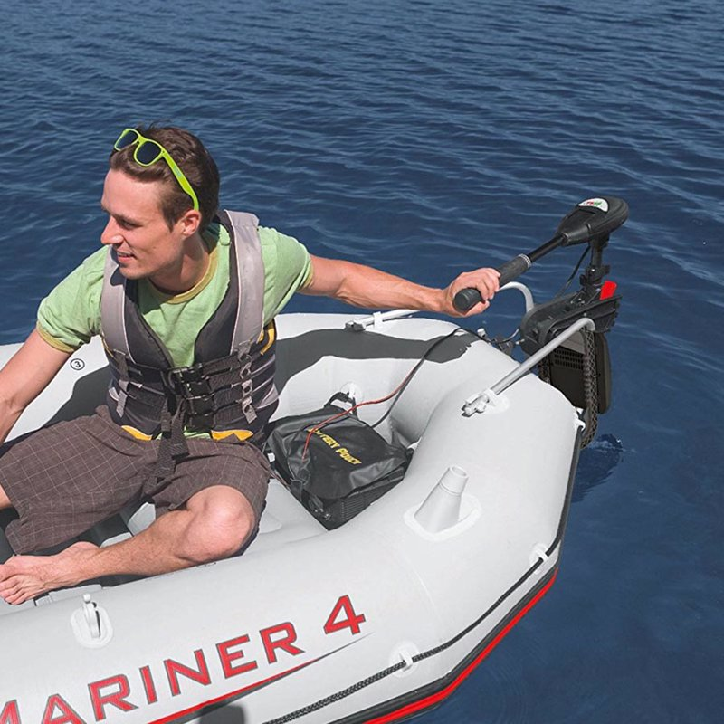 Лодочный электромотор Intex 68631 Trolling Motor Мотор для лодки Challenger, SeaHawk, Excursion, Mariner