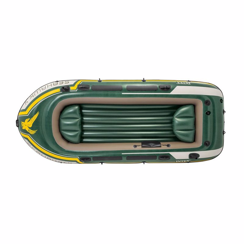 Четырехместная надувная лодка Intex 68350 (351х145х48 см) Seahawk 4