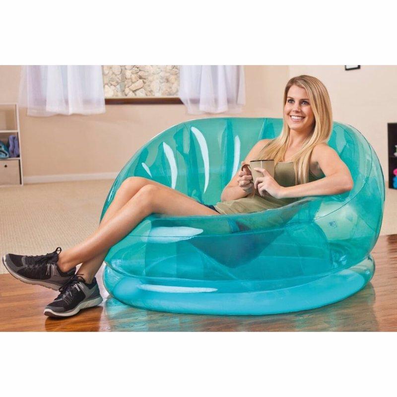 Надувное кресло Intex 68594 (104 x 117 x 69 см) Cosmo Chair (Голубой)
