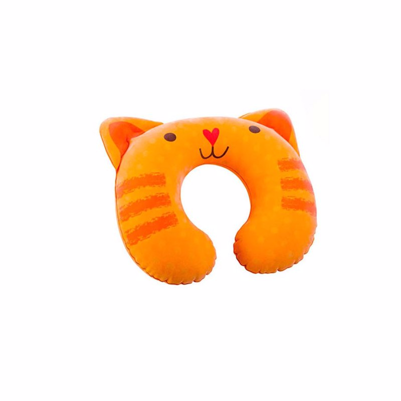 Надувной подголовник Intex 68678 (29 х 29 х 8 см) Котик