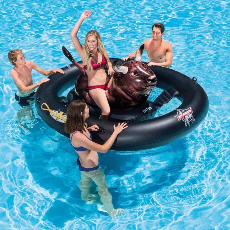 Водный надувной игровой центр Intex 56280 Надувной бык Родео (239 x 196 x 81 см) Inflatabull