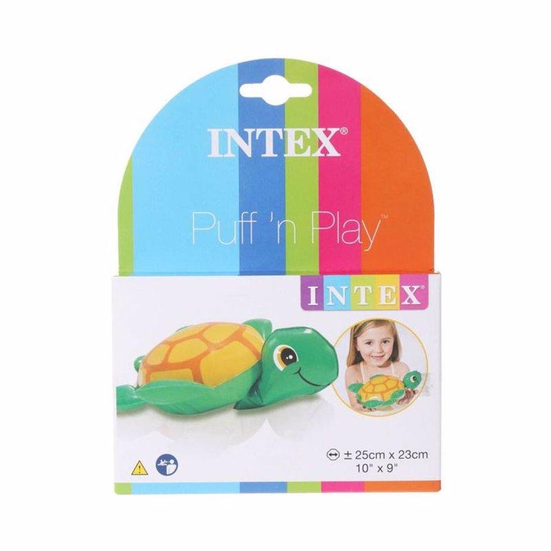 Надувная игрушка Intex 58590 Puff 'n Play (Черепаха)