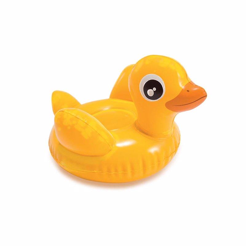 Надувная игрушка Intex 58590 Puff 'n Play (Уточка)