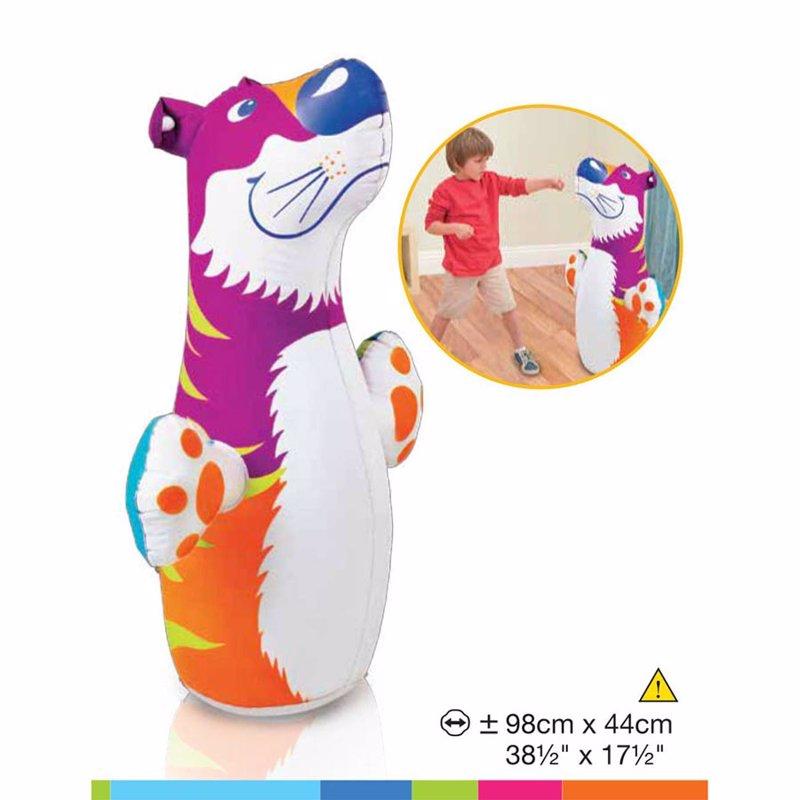 Надувная игрушка-неваляшка Intex 44669 Тигр 3-D Bop Bags