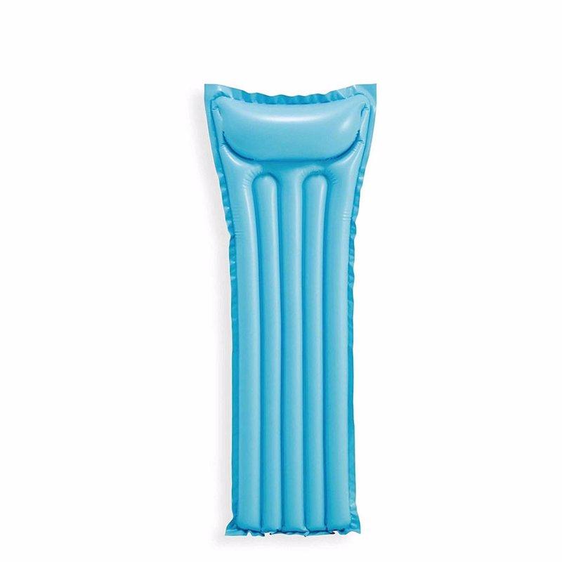 Пляжный надувной матрас для плавания Intex 59703 (Голубой) Economats (183х69 см)