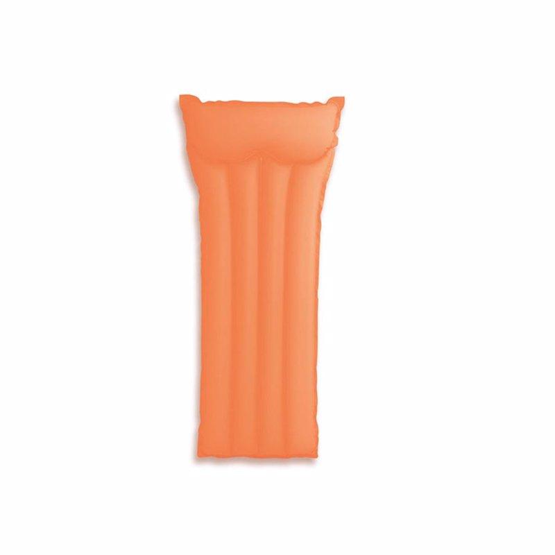 Пляжный надувной матрас для плавания Intex 59717 (Оранжевый) Neon Frost Air Mats (183х76 см)