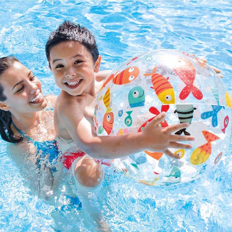 Надувной мяч Intex 59040 (Рыбки) Lively Print Balls (51 см)