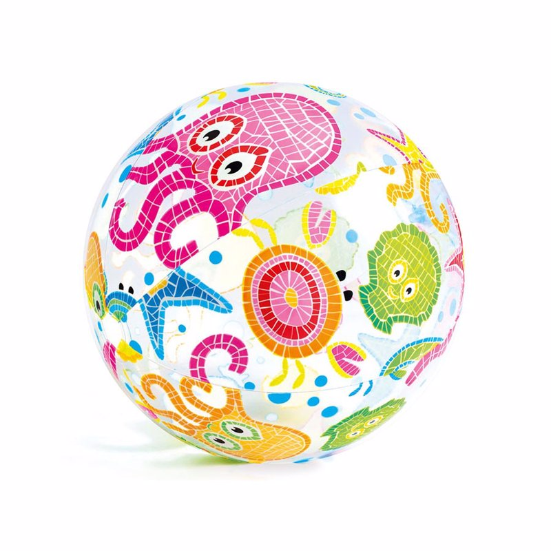 Надувной мяч Intex 59040 (Осьминожки) Lively Print Balls (51 см)