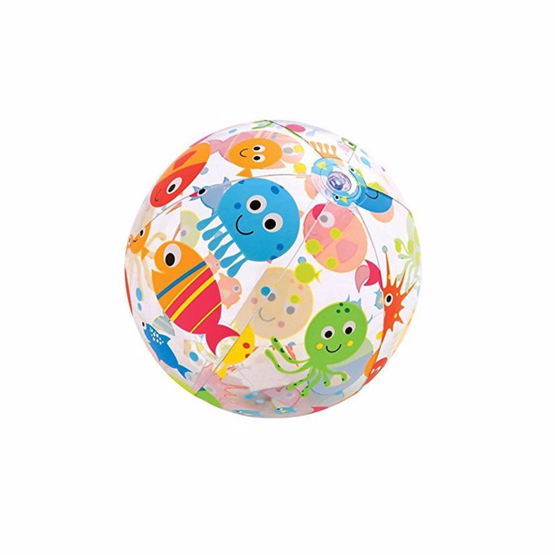 Надувной мяч Intex 59050 (Рыбки) Lively Print Balls (61 см)