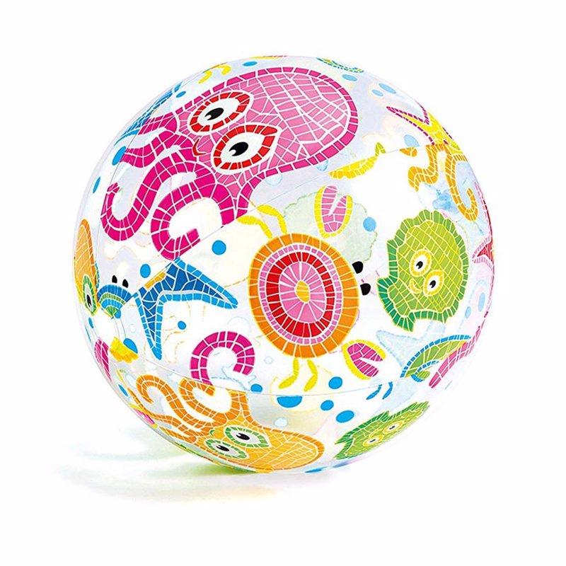Надувной мяч Intex 59050 (Осьминожки) Lively Print Balls (61 см)