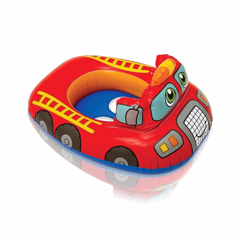 Детский надувной круг-плотик Intex 59586 Kiddie Floats (Пожарная машина)