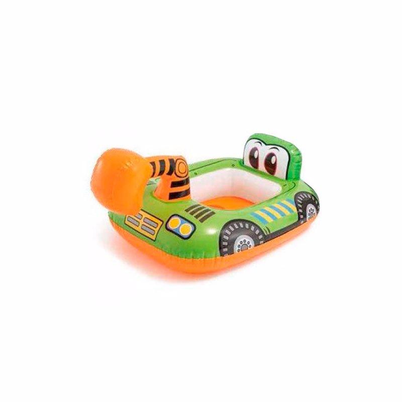 Детский надувной круг-плотик Intex 59586 Kiddie Floats (Экскаватор)
