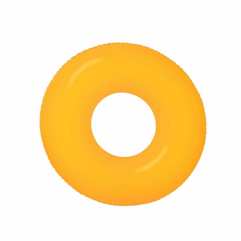 Надувной круг Intex 59262 (Оранжевый) Neon Frost Tubes (91 см)
