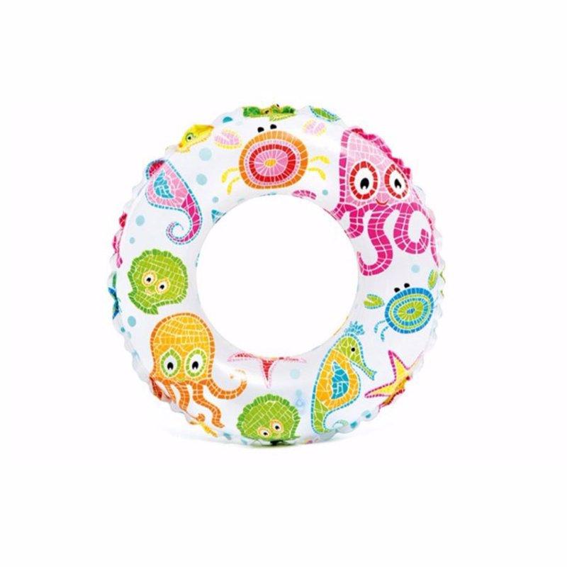 Детский надувной круг Intex 59230 (Осьминожки) Lively Print Swim Rings (51 см)