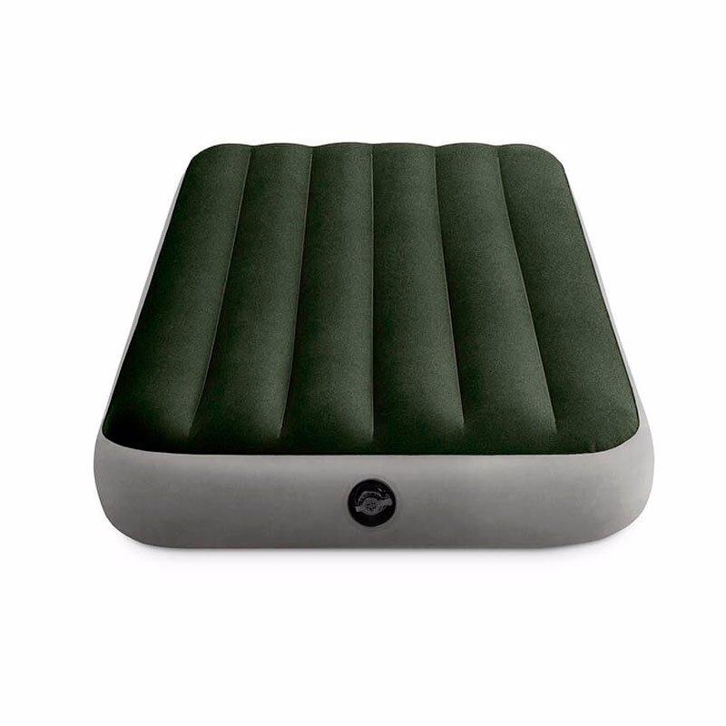 Односпальный надувной матрас Intex 64107 (99 x 191 x 25 см) Prestige Downy Airbed
