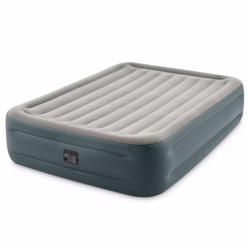 Двуспальная надувная кровать Intex 64126 (152 x 203 x 46 см) Essential Rest + Встроенный электронасос 220В