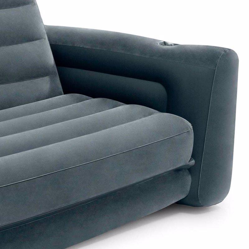 Надувной диван-трансформер Intex 66552 (203 x 224 x 66 см) Pull-Out Sofa