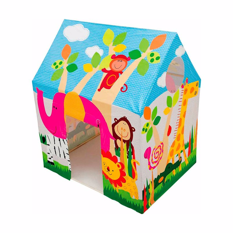 Детский игровой домик-палатка Intex 45642 (95 x 75 x 107 см) Джунгли