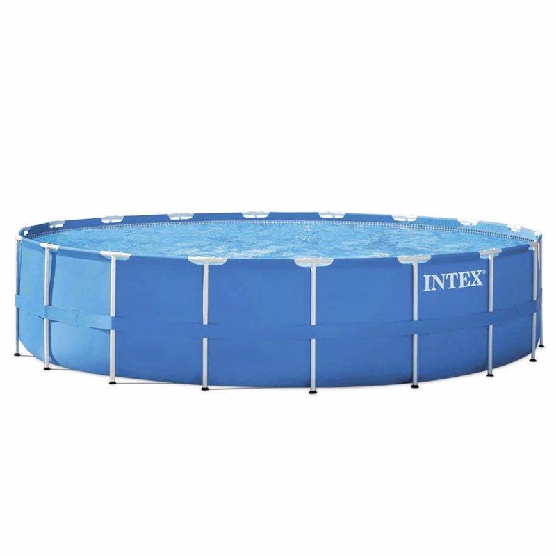 Круглый каркасный бассейн Intex 28252 (549x122 см) Metal Frame Pool