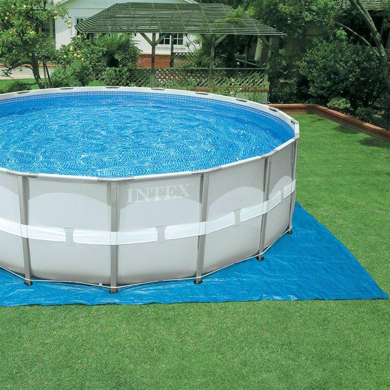 Круглый каркасный бассейн Intex 28322 (488x122 см) Ultra Frame Pool