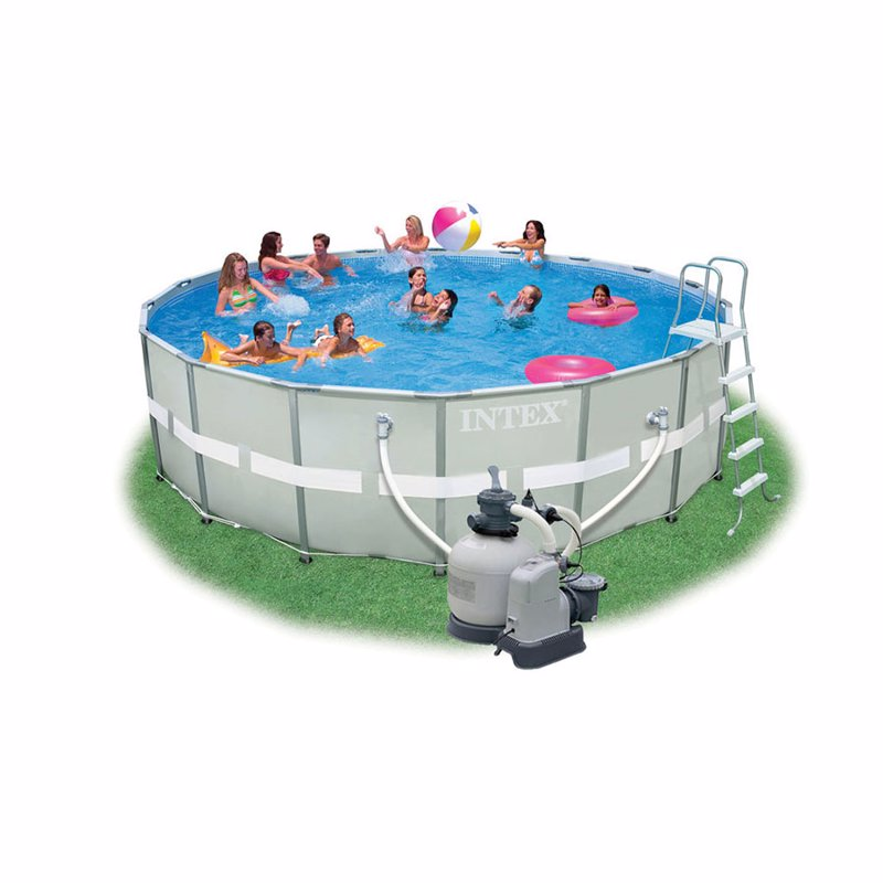 Круглый каркасный бассейн Intex 28334 (549x132 см) Ultra Frame Pool