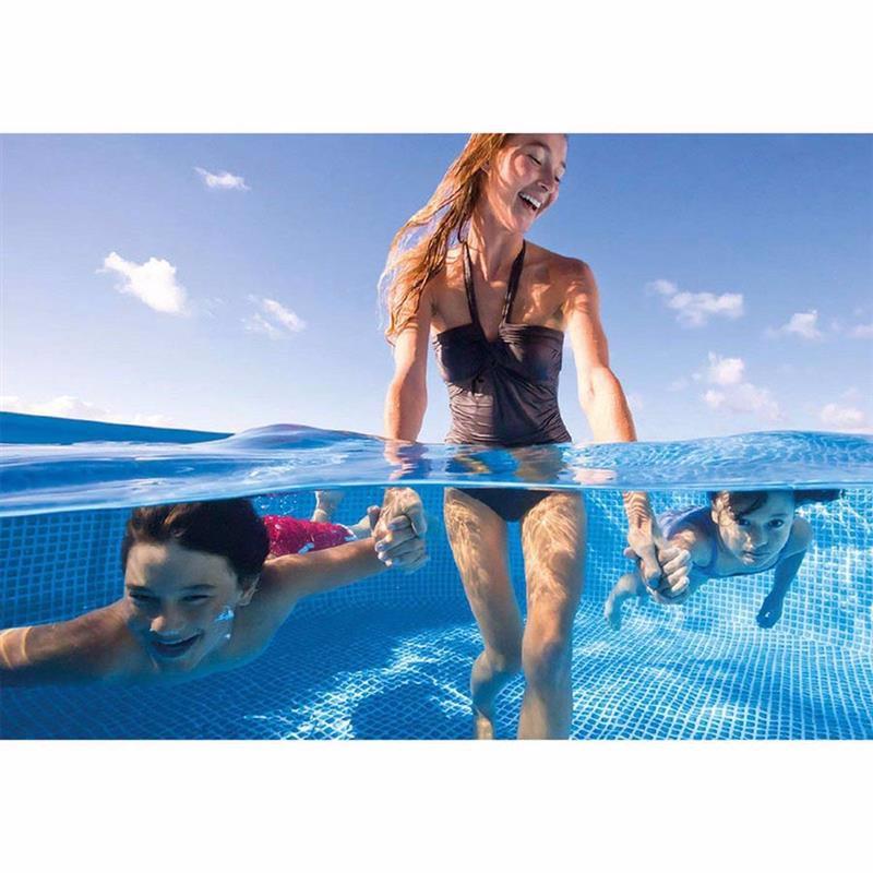 Прямоугольный каркасный бассейн Intex 28271 Rectangular Frame Pool (260x160x65 см)
