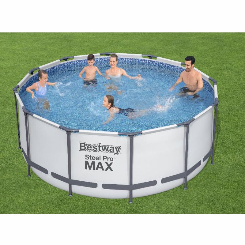Круглый каркасный бассейн Bestway 56088 (366х122 см) Steel Pro Frame Pool