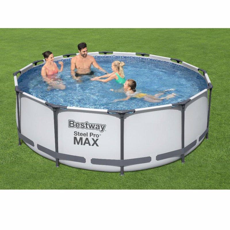 Круглый каркасный бассейн Bestway 56260 (366х100 см) Steel Pro Frame Pool