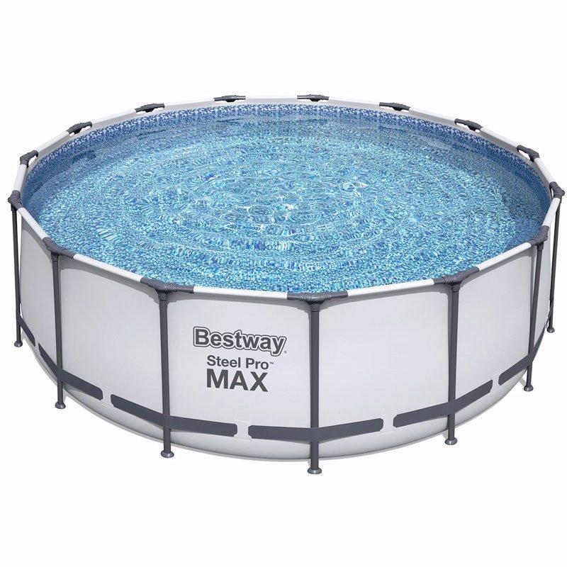 Круглый каркасный бассейн Bestway 56100 (457x122 см) Steel Pro Frame Pool
