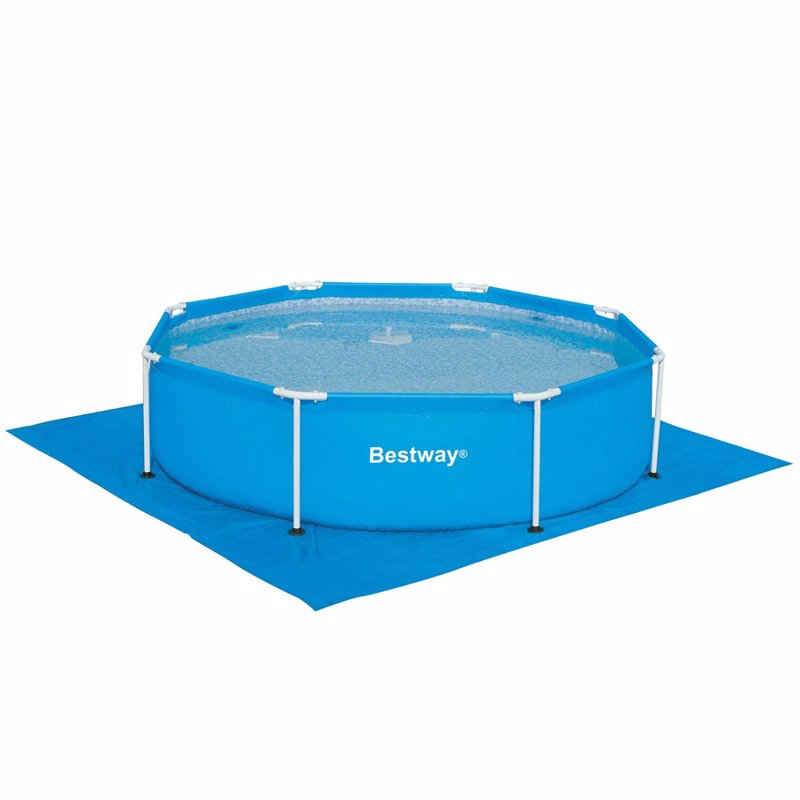 Круглый каркасный бассейн Bestway 56045 (244x61 см) Steel Pro Frame Pool