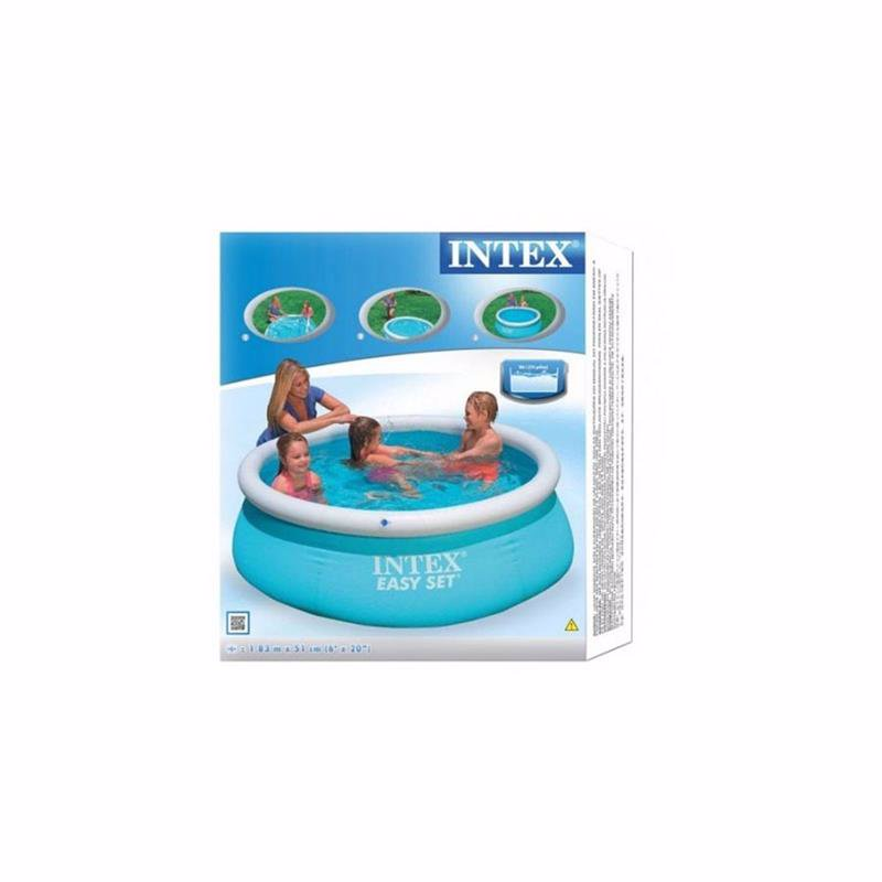Надувной бассейн Intex 28101 Интекс 54402 Easy Set Pool (183x51 см)