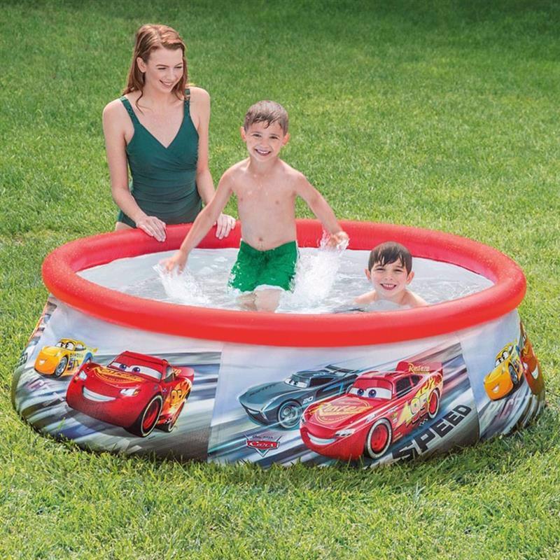 Надувной бассейн Intex 28103 Тачки Cars Easy Set Pool (183x51 см)