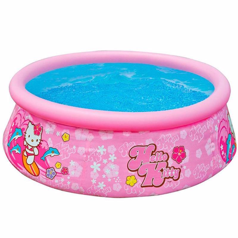 Надувной бассейн Intex 28104 Hello Kitty Easy Set Pool (183x51 см)