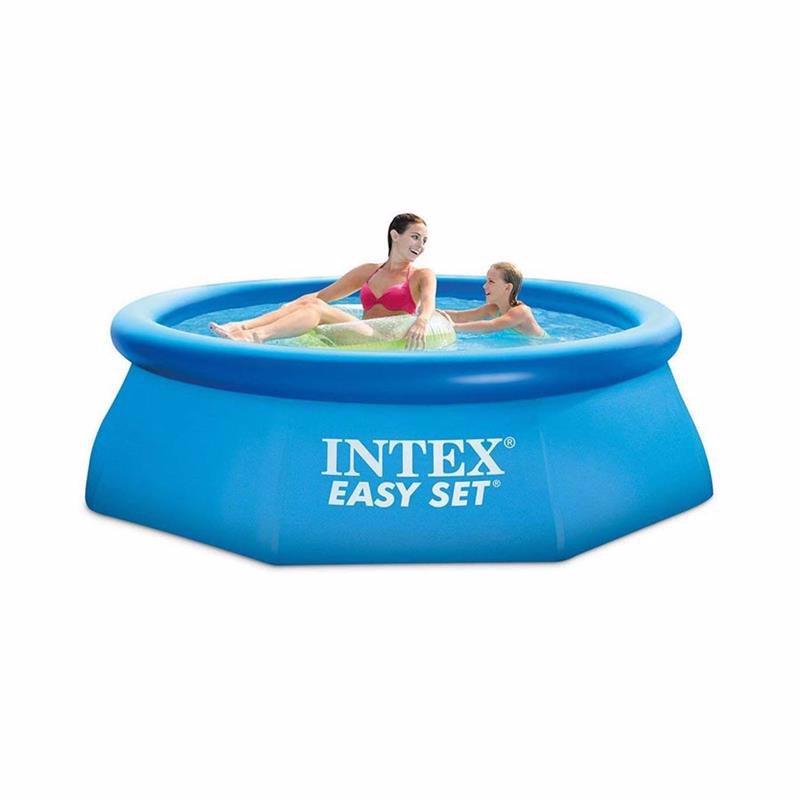 Надувной бассейн Intex 28112 Интекс 56972 Easy Set Pool (244x76 см)
