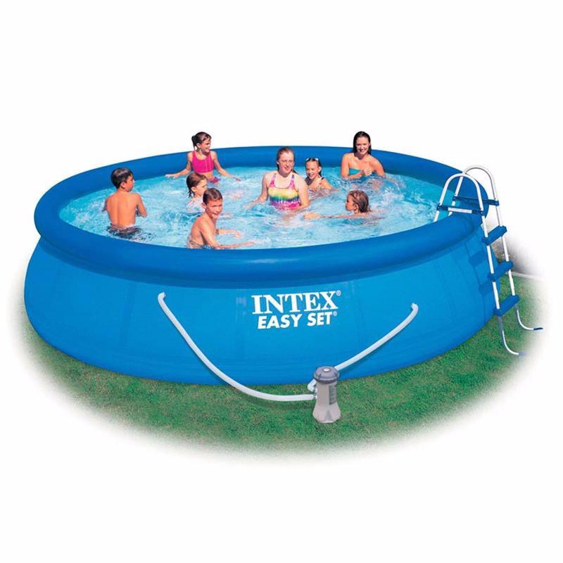 Надувной бассейн Intex 26166 Easy Set Pool (457x107 см)