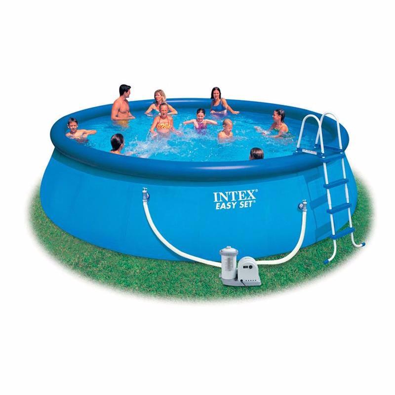 Надувной бассейн Intex 56905 Easy Set Pool (549x122 см)