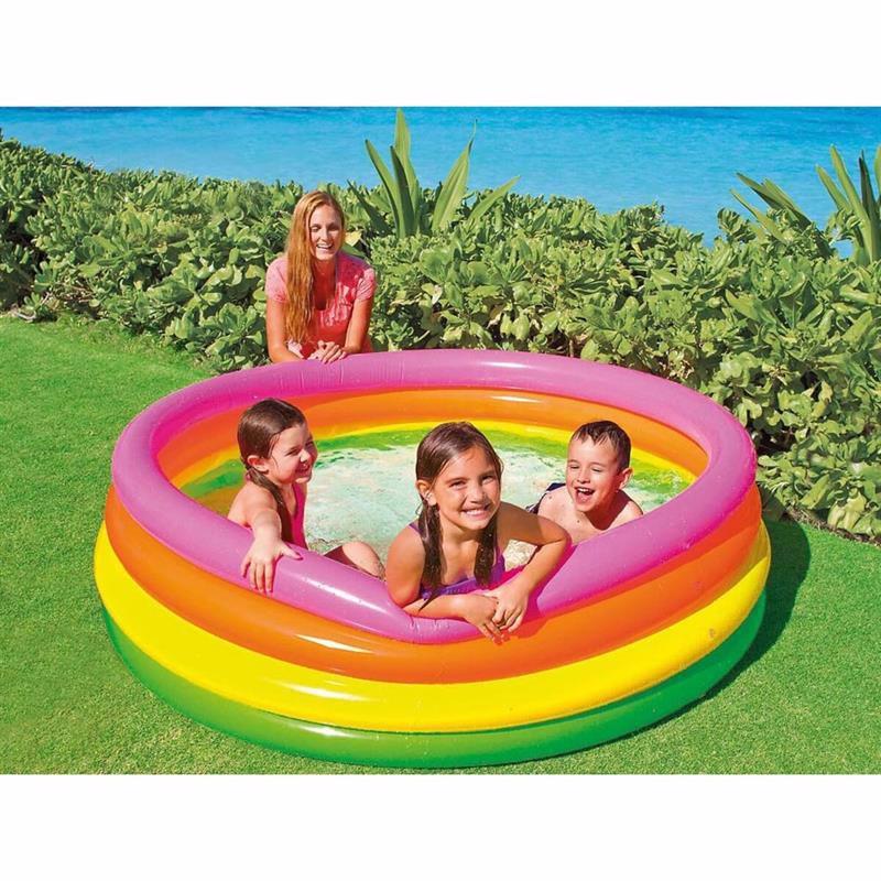 Детский надувной бассейн Intex 56441 Sunset Glow Pool (168x46 см)