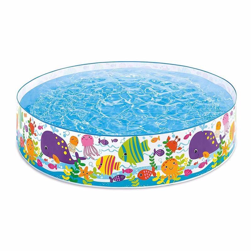 Детский каркасный бассейн Intex 56452 Ocean Play Snapset Pool (183x38 см)