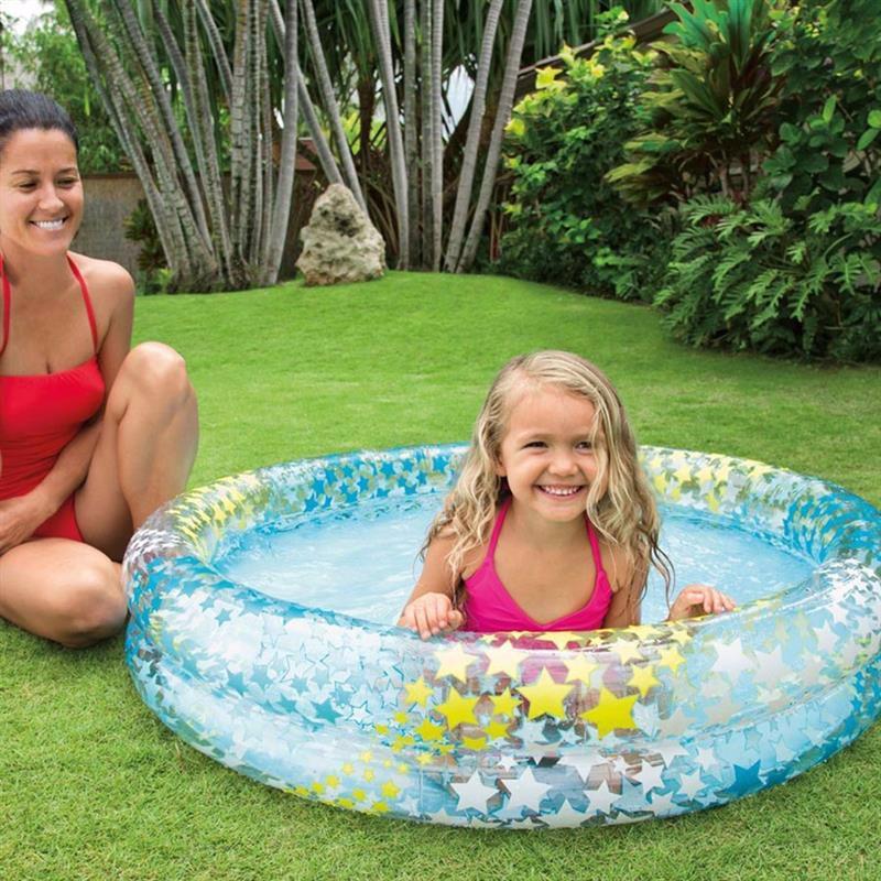 Детский надувной бассейн Intex 59421 Stargaze Pool (122x25 см)