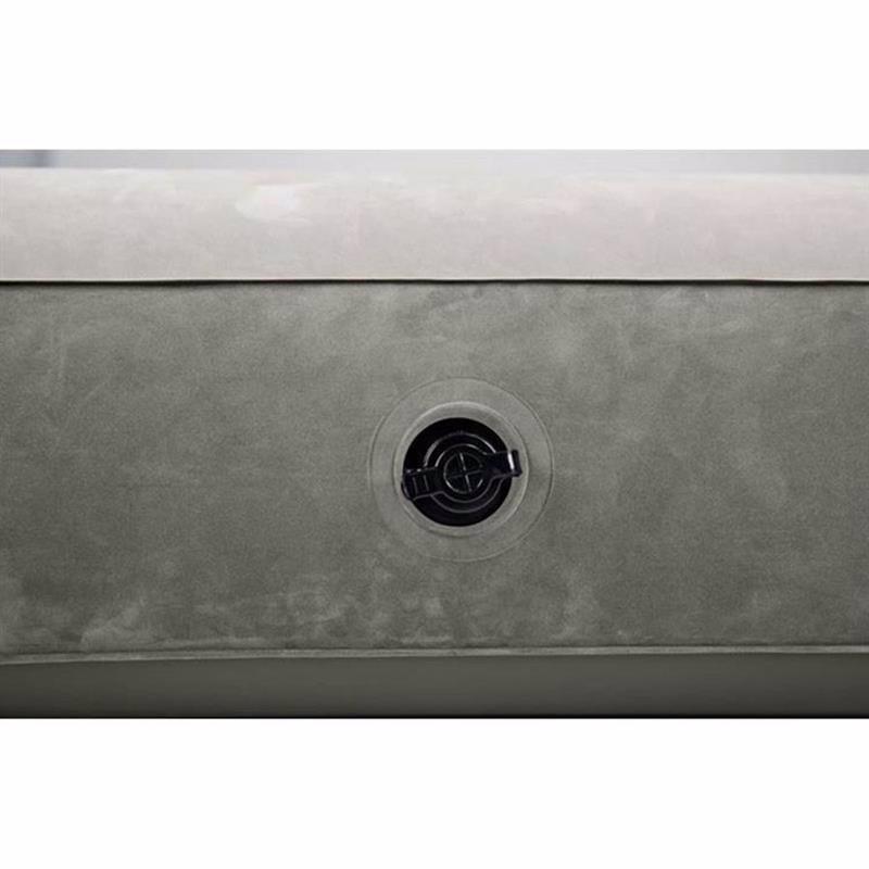Полутороспальный надувной матрас Intex 64102 (137-191-25 см) Single-High Airbed