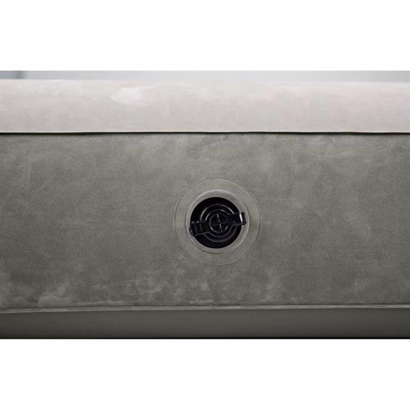 Двуспальный надувной матрас Intex 64103 (152-203-25 см) Single-High Airbed