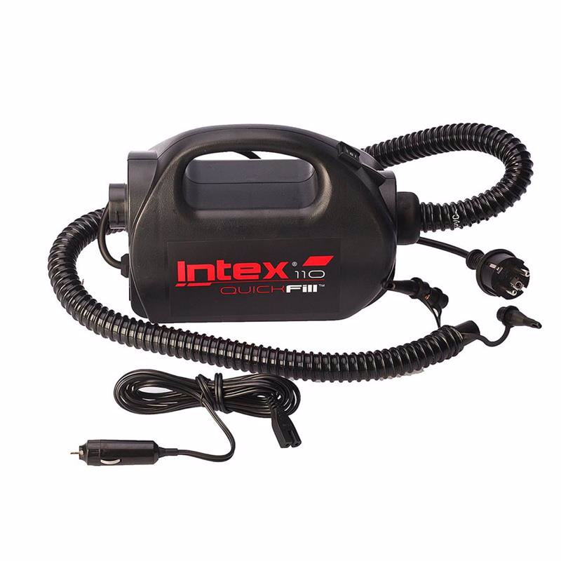 Электронасос Intex 68609 (400 литр/мин) Quick-Fill™ High PSI (Работает от: сети 220В, прикуривателя 12В)