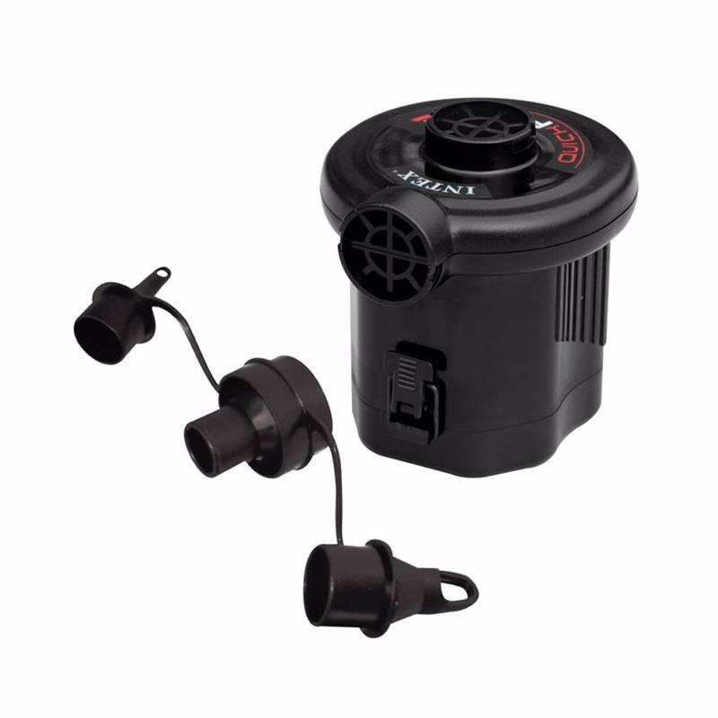 Электронасос Intex 68638 (380 литр/мин) Quick-Fill™ Battery (Работает от 6-ти батареек, типа С)